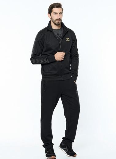 Hummel Fermuarlı  Sweatshirt Siyah